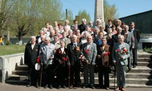 Организация встречи ветеранов в компании